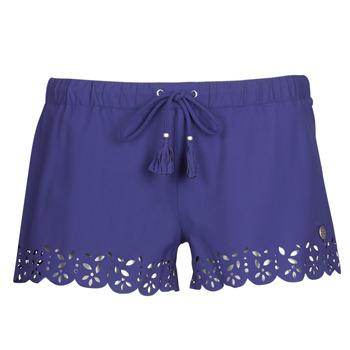 衣服 女士 短裤&百慕大短裤 Banana Moon MEOW 海蓝色