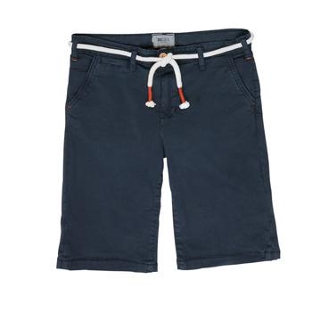 衣服 男孩 短裤&百慕大短裤 Deeluxe KARMA 海蓝色