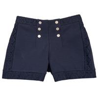 衣服 女孩 短褲&百慕大短褲 Ikks SOLISSO 海藍色