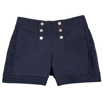 衣服 女孩 短裤&百慕大短裤 Ikks SOLISSO 海蓝色