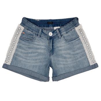 衣服 女孩 短裤&百慕大短裤 Ikks ISAHA 蓝色