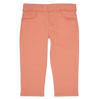 衣服 女孩 多口袋裤子 Ikks CARLOTTA 橙色