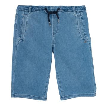 衣服 男孩 短裤&百慕大短裤 Ikks PAGALI 蓝色