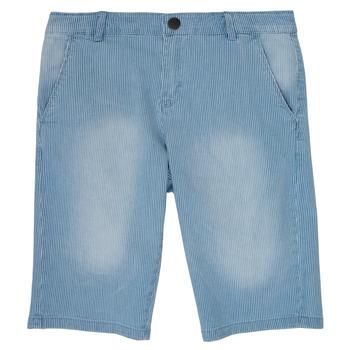 衣服 男孩 短裤&百慕大短裤 Ikks POTALIE 蓝色