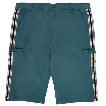 衣服 男孩 短裤&百慕大短裤 Ikks MANUELA 蓝色 / 绿色