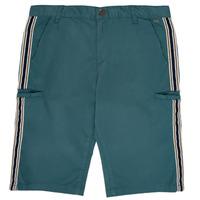 衣服 男孩 短裤&百慕大短裤 Ikks MANUEL 蓝色 / 绿色