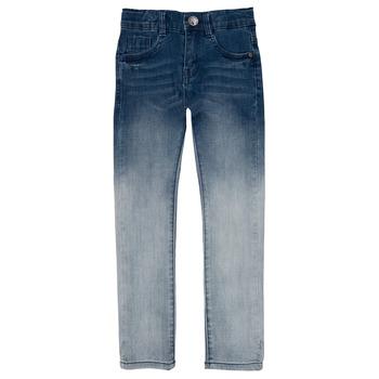 衣服 男孩 紧身牛仔裤 Ikks CLOE 蓝色