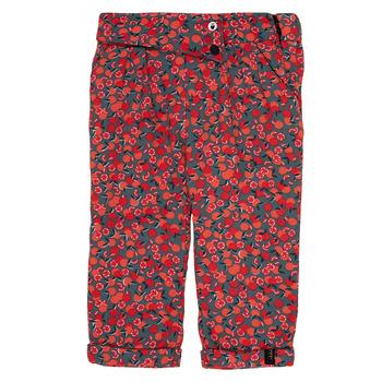 衣服 女孩 紧身裤 Ikks MARGA 灰色 / 红色