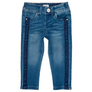衣服 女孩 紧身牛仔裤 Ikks LUISIN 蓝色