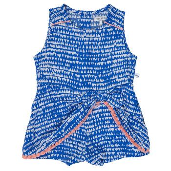 衣服 女孩 连体衣/连体裤 Ikks BEO 蓝色