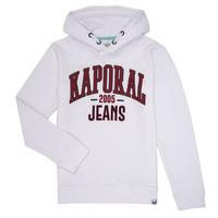 衣服 男孩 卫衣 Kaporal EDER 白色