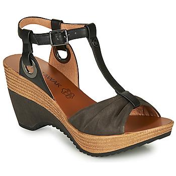 鞋子 女士 凉鞋 Chattawak JENNY 黑色