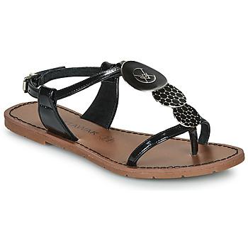 鞋子 女士 凉鞋 Chattawak PIPA 黑色