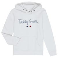 衣服 男孩 卫衣 Teddy Smith 泰迪 史密斯 SEVEN 白色