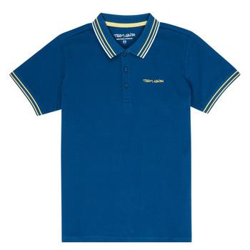 衣服 男孩 短袖保罗衫 Teddy Smith 泰迪 史密斯 PASY 海蓝色