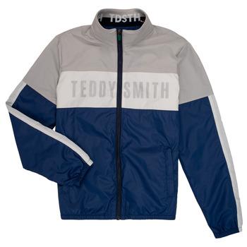 衣服 男孩 夹克 Teddy Smith 泰迪 史密斯 HERMAN 灰色 / 海蓝色