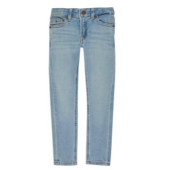衣服 男孩 紧身牛仔裤 Tommy Hilfiger SIMON 蓝色