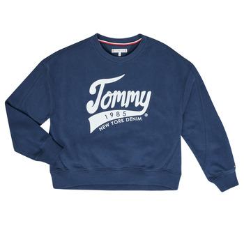 衣服 女孩 卫衣 Tommy Hilfiger KG0KG04955 海蓝色