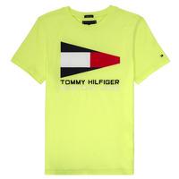 衣服 男孩 短袖体恤 Tommy Hilfiger KB0KB05628 黄色