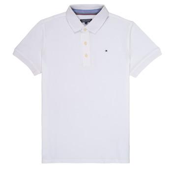 衣服 男孩 短袖保罗衫 Tommy Hilfiger KB0KB03975 白色