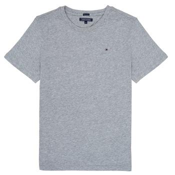 衣服 男孩 短袖体恤 Tommy Hilfiger KB0KB04140 灰色