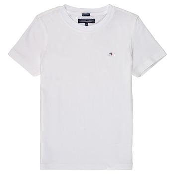 衣服 男孩 短袖体恤 Tommy Hilfiger KB0KB04140 白色