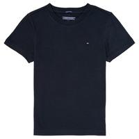衣服 男孩 短袖体恤 Tommy Hilfiger KB0KB04140 海蓝色