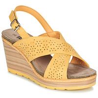 鞋子 女士 凉鞋 Refresh RILO 黄色