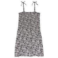 衣服 女孩 短裙 Le Temps des Cerises PUNTA 黑色 / 白色