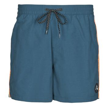 衣服 男士 男士泳裤 Quiksilver 极速骑板 BEACH PLEASE 蓝色
