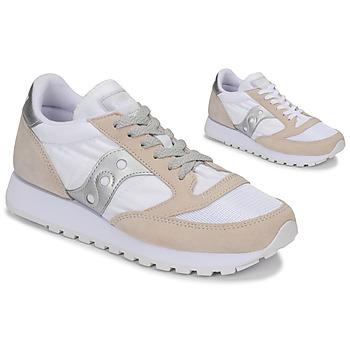 鞋子 球鞋基本款 Saucony Jazz Vintage 白色 / 米色 / 银灰色