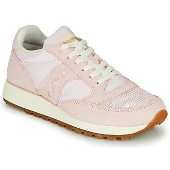 鞋子 女士 球鞋基本款 Saucony Jazz Vintage 玫瑰色