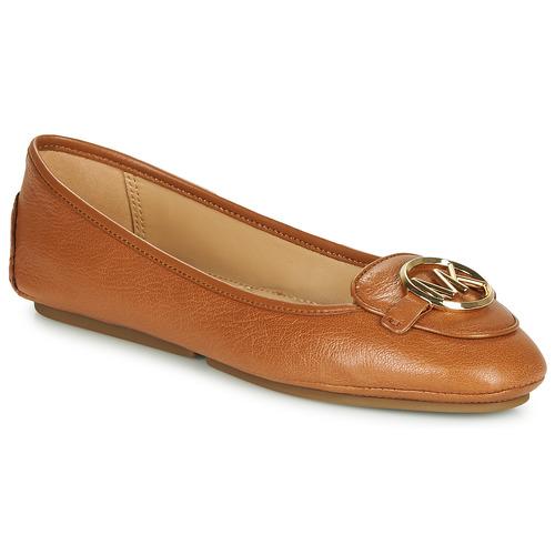 鞋子 女士 平底鞋 Michael by Michael Kors LILLIE 棕色