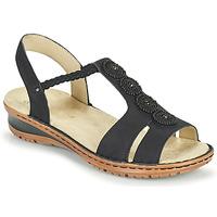 鞋子 女士 凉鞋 Ara HAWAII 黑色