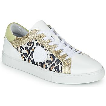 鞋子 女士 球鞋基本款 Philippe Morvan FURRY 白色 / Leopard / 金色