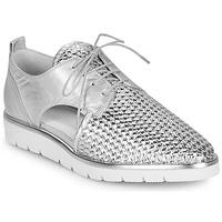 鞋子 女士 德比 Regard LUCEY V2 TRESSE SILVER 银灰色