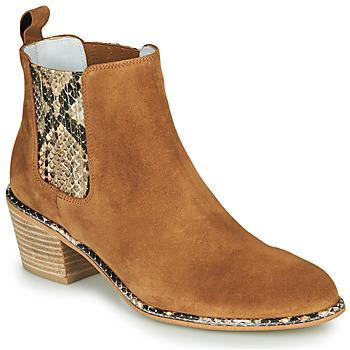 鞋子 女士 都市靴 Regard NINA V6 PESCA P CUOIO 棕色