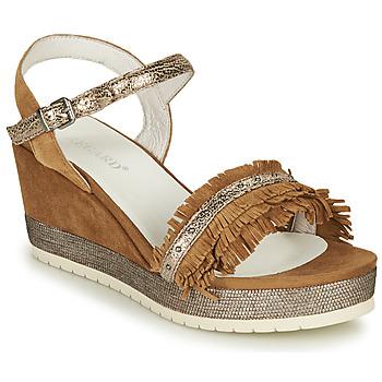 鞋子 女士 凉鞋 Regard DURTAL V2 CROSTA CUOIO 棕色