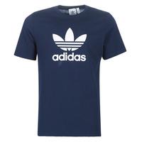 衣服 男士 短袖體恤 Adidas Originals 阿迪達斯三葉草 ED4715 海藍色