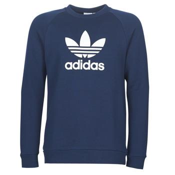 衣服 男士 長袖T恤 Adidas Originals 阿迪達斯三葉草 ED5948 海藍色