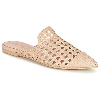 鞋子 女士 休闲凉拖/沙滩鞋 Pretty Ballerinas COTON ROSATO 米色
