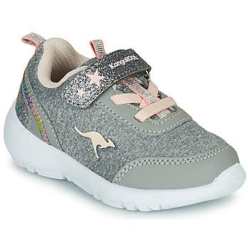 鞋子 女孩 球鞋基本款 Kangaroos KY-Citylite EV 灰色 / 玫瑰色