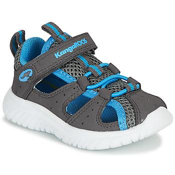 鞋子 男孩 凉鞋 Kangaroos KI-ROCK LITE EV 灰色 / 蓝色