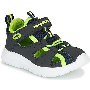 鞋子 男孩 凉鞋 Kangaroos KI-ROCK LITE EV 蓝色 / 黄色