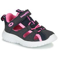 鞋子 女孩 涼鞋 Kangaroos KI-ROCK LITE EV 藍色 / 玫瑰色
