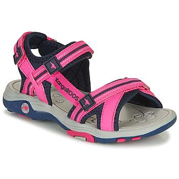鞋子 女孩 涼鞋 Kangaroos K-LENI 玫瑰色
