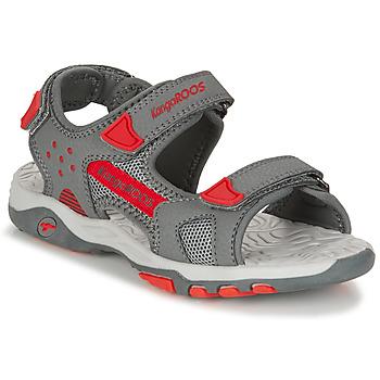 鞋子 男孩 凉鞋 Kangaroos K-CELTIC 灰色 / 橙色