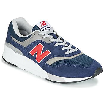 鞋子 球鞋基本款 New Balance新百伦 997 蓝色 / 红色