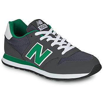 鞋子 男士 球鞋基本款 New Balance新百伦 500 灰色 / 绿色