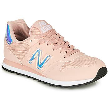 鞋子 女士 球鞋基本款 New Balance新百伦 500 玫瑰色